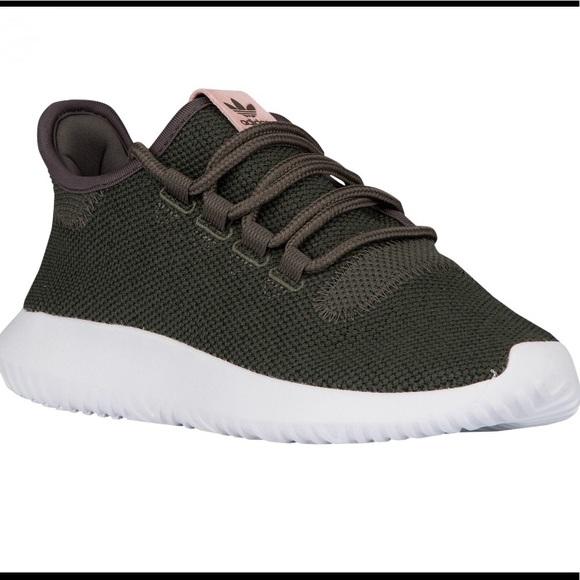 adidas Shoes - Green and Pink Adidas Tubular Shadow 7f72e16f14